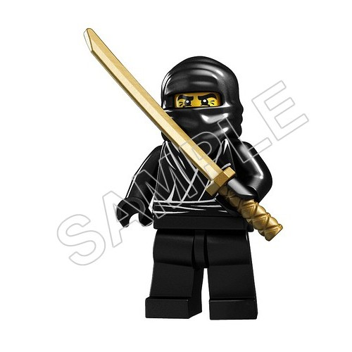 Lego Game Ninja T Shirt Iron on Transfer Decal #18 by www.shopironons.com