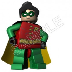 Lego Game Robin T Shirt Iron on Transfer Decal #2