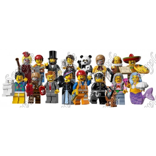 Lego Movie Characters T Shirt Iron on Transfer Decal #5 by www.shopironons.com