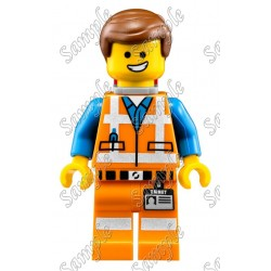 Lego Movie Emmet T Shirt Iron on Transfer Decal #1