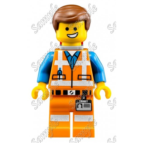 Lego Movie Emmet T Shirt Iron on Transfer Decal #1 by www.shopironons.com