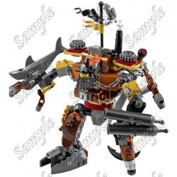 Lego Movie Metalbeard T Shirt Iron on Transfer Decal #3