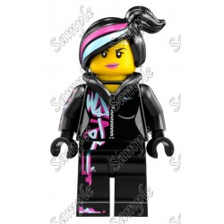 Lego Movie Wyldstyle T Shirt Iron on Transfer Decal #2