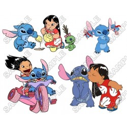 Lilo & Stitch T Shirt Iron on Transfer Decal #15