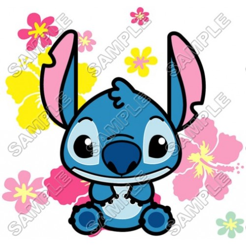 Lilo & Stitch T Shirt Iron on Transfer Decal #2 by www.shopironons.com
