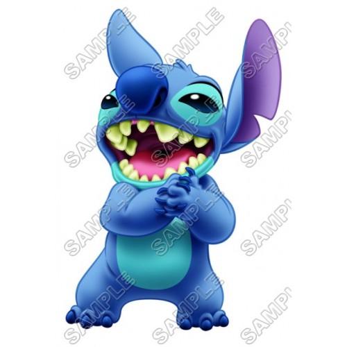 Lilo & Stitch T Shirt Iron on Transfer Decal #6 by www.shopironons.com