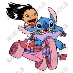 Lilo & Stitch T Shirt Iron on Transfer Decal #7
