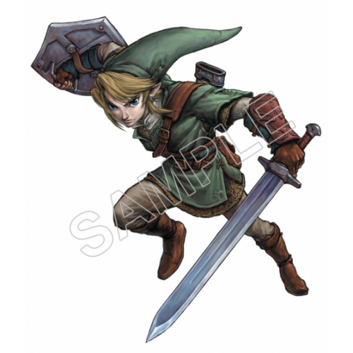 Link (The Legend of Zelda) T Shirt Iron on Transfer Decal #4 by www.shopironons.com