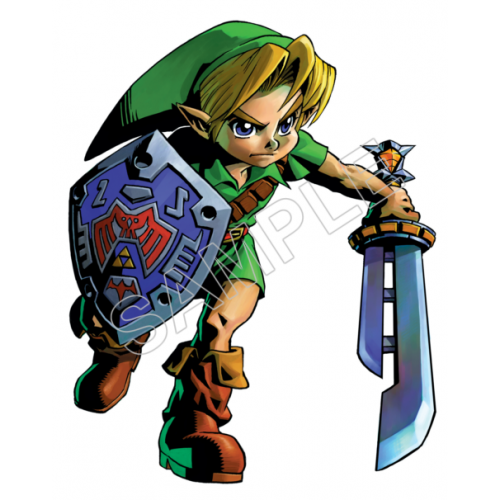 Link (The Legend of Zelda) T Shirt Iron on Transfer Decal #5 by www.shopironons.com