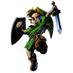 Link (The Legend of Zelda) T Shirt Iron on Transfer Decal #6