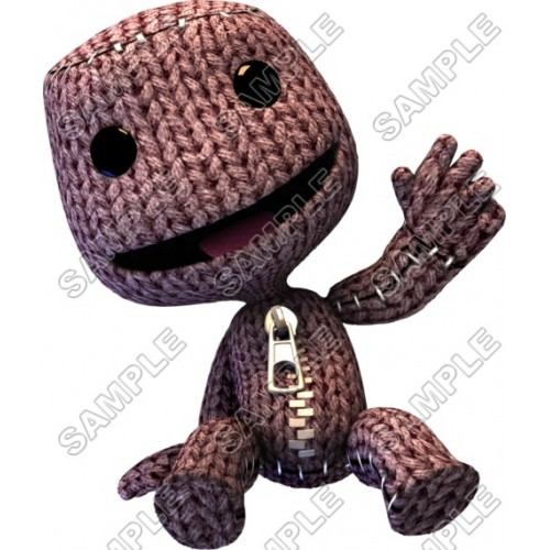 LittleBigPlanet Sackboy T Shirt Iron on Transfer Decal #3 by www.shopironons.com
