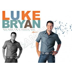 Luke Bryan T Shirt Iron on Transfer Decal #2