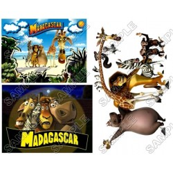 Madagascar T Shirt Iron on Transfer Decal #1