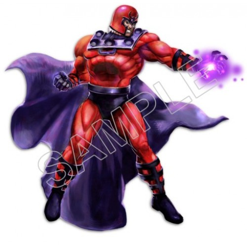 Magneto T Shirt Iron on Transfer Decal #7 by www.shopironons.com