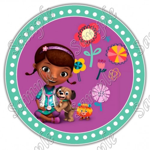 Doc McStuffins T Shirt Iron on Transfer Decal #35 by www.shopironons.com