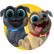 Bingo and Rolly of Puppy Dog Pals