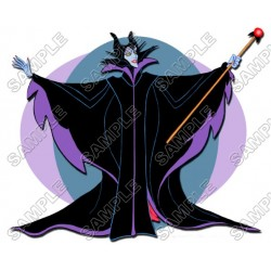 Maleficent T Shirt Iron on Transfer Decal #13