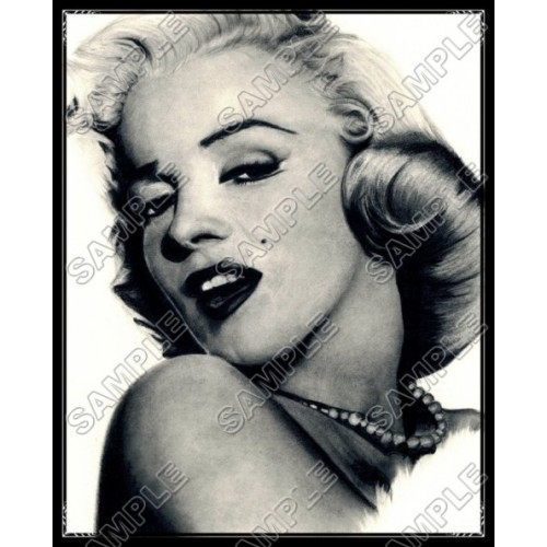 Marilyn Monroe T Shirt Iron on Transfer Decal #3 by www.shopironons.com