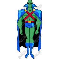 Martian Manhunter Super Heroes T Shirt Iron on Transfer Decal #2