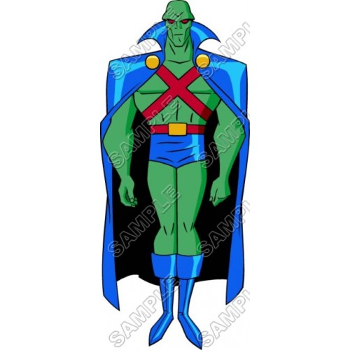 Martian Manhunter Super Heroes T Shirt Iron on Transfer Decal #2 by www.shopironons.com