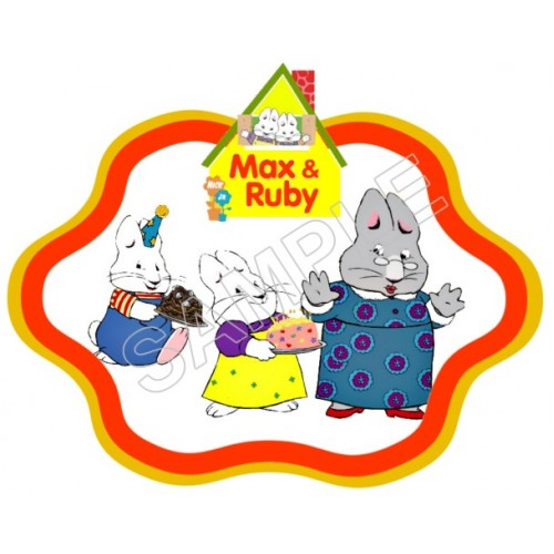 Max and Ruby T Shirt Iron on Transfer Decal #6 by www.shopironons.com