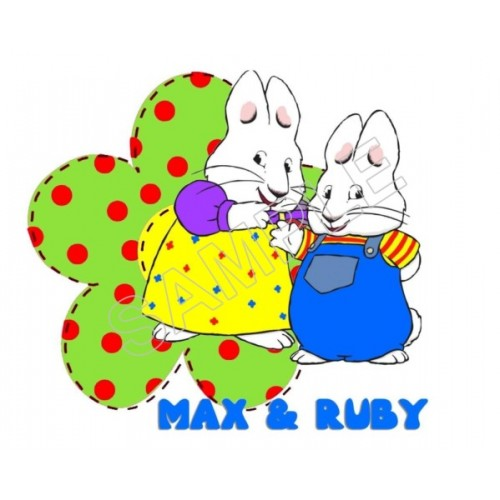 Max and Ruby T Shirt Iron on Transfer Decal #9 by www.shopironons.com