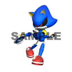Metal Sonic T Shirt Iron on Transfer Decal #6