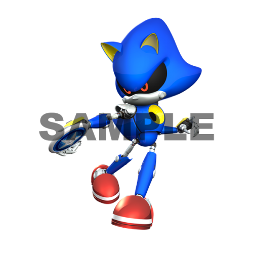 Metal Sonic T Shirt Iron on Transfer Decal #6 by www.shopironons.com