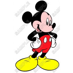 Mickey Mouse T Shirt Iron on Transfer Decal #12