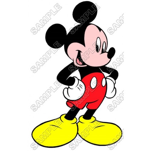 Mickey Mouse T Shirt Iron on Transfer Decal #12 by www.shopironons.com