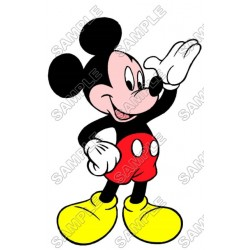 Mickey Mouse T Shirt Iron on Transfer Decal #13