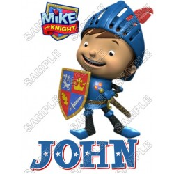 Mike the Knight Personalized Custom T Shirt Iron on Transfer Decal #2