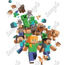 Minecraft T Shirt Iron on Transfer Decal #14