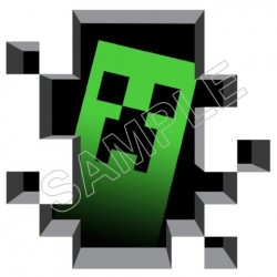 Minecraft T Shirt Iron on Transfer Decal #18
