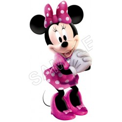 Minnie Mouse T Shirt Iron on Transfer Decal #111
