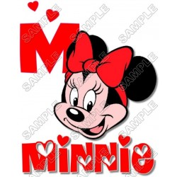 Minnie Mouse T Shirt Iron on Transfer Decal #15