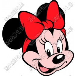 Minnie Mouse T Shirt Iron on Transfer Decal #22