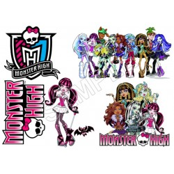 Monster High T Shirt Iron on Transfer Decal #5