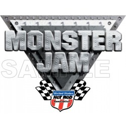 Monster Jam Truck T Shirt Iron on Transfer Decal #3