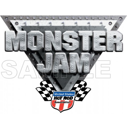 Monster Jam Truck T Shirt Iron on Transfer Decal #3 by www.shopironons.com