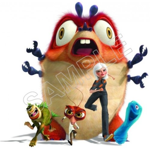 Monsters Aliens T Shirt Iron on Transfer Decal #7 by www.shopironons.com