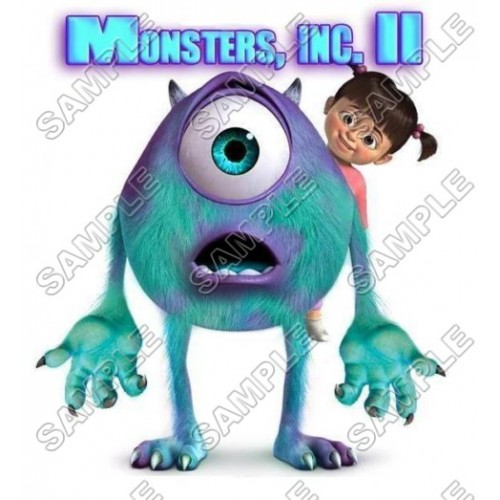 Monsters, Inc. T Shirt Iron on Transfer Decal #1 by www.shopironons.com