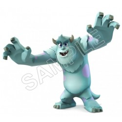 Monsters Inc. T Shirt Iron on Transfer Decal #6