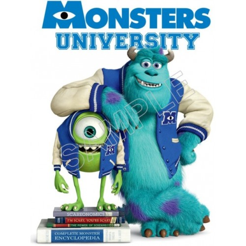 Monsters University T Shirt Iron on Transfer Decal #11 by www.shopironons.com