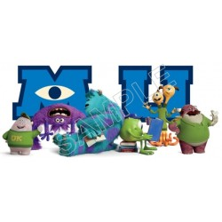 Monsters University T Shirt Iron on Transfer Decal #8