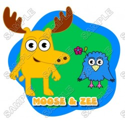 Moose & Zee T Shirt Iron on Transfer Decal #2