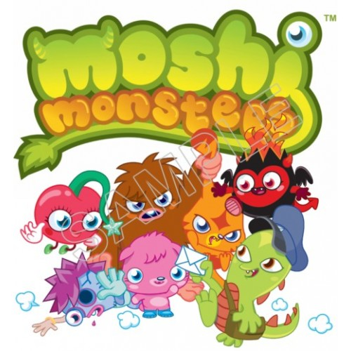 Moshi Monsters T Shirt Iron on Transfer Decal #2 by www.shopironons.com