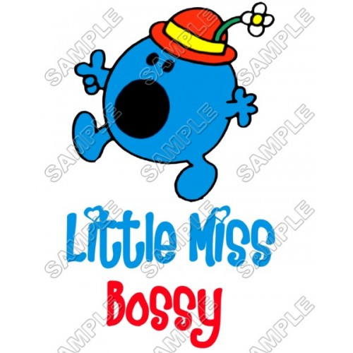 Mr Men and Little Miss Bossy T Shirt Iron on Transfer Decal #38 by www.shopironons.com
