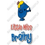 Mr Men and Little Miss Brainy T Shirt Iron on Transfer Decal #24 by www.shopironons.com