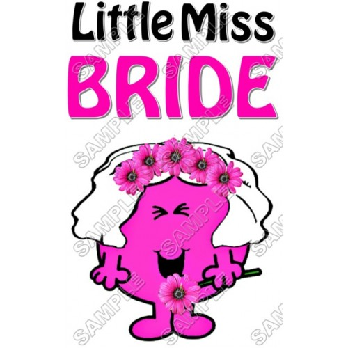 Mr Men and Little Miss Bride T Shirt Iron on Transfer Decal #32 by www.shopironons.com